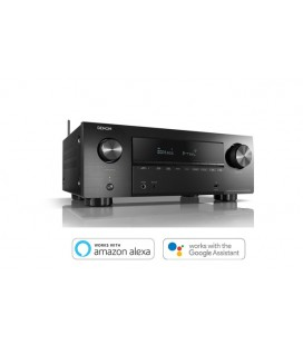 Network Receiver AV 7.2 Denon AVR-X2700H, 150W, HEOS built-in, Wi-Fi, Airplay 2, Bluetooth, 8K/60Hz and 4K/120Hz - black