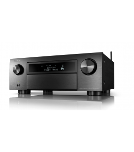 Network AV Receiver AV 11.2 DENON AVC-X6700H BLACK, 205W /CH, 8K/60Hz, HEOS built-in,  Airplay 2, Bluetooth, Hi-Res