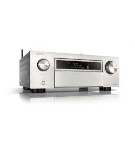 Network AV Receiver AV 11.2 DENON AVC-X6700H SILVER, 205W /CH, 8K/60Hz, HEOS built-in,  Airplay 2, Bluetooth, Hi-Res