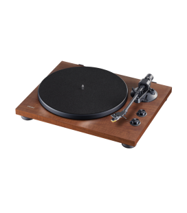 Pickup Turntable hi-fi TEAC TN-280BT WALNUT, Phono EQ, Bluetooth
