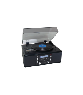 Microsistem Stereo Hi-Fi TEAC LP-R550USB, CD Recorder, USB, Turntable, Cassette Tape Player, TUNER FM