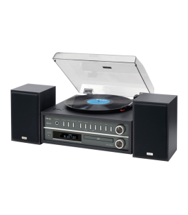 Microsistem Stereo Hi-Fi TEAC MC-D800 BLACK, Bluetooth®, CD, USB, Turntable, TUNER AM/FM