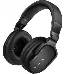 Casti DJ profesionale Over ear Pioneer HRM-5, Studio Monitor headphones, 100 dB, Frequency Range 5 - 30000 Hz, Impedance 32 Ω