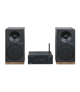 Microsistem stereo cu Bluetooth Tangent Ampster BT si boxe Spectrum X4 White
