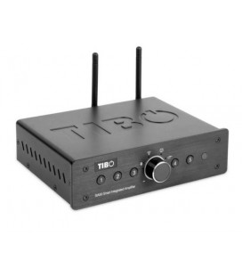 Network Receiver Stereo Wireless TIBO SIA50, 2*50W RMS, Wi-Fi, Multiroom, Bluetooth, USB, AUX, Internet Radio