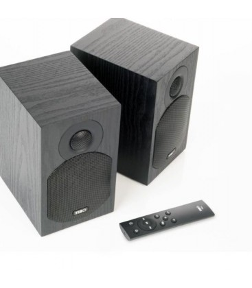 Boxe Wireless Stereo TIBO PLUS 2.1 BLACK, Bluetooth, Optical IN, Sub Out, 2x35W RMS