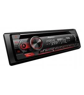 CD player auto PIONEER DEH-S420BT, 4x50W, 1DIN, Bluetooth, Spotify,  USB, compatibil Apple/Android, ARC App