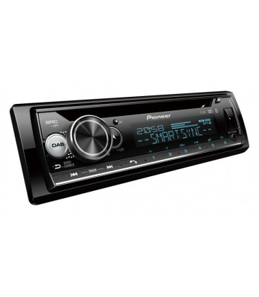 CD player auto PIONEER DEH-S720BT, 4x50W, 1DIN, Bluetooth, Display Multicolor,  DAB/DAB+, USB, Apple/Android, ARC App