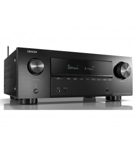 Network Receiver AV 7.2 Denon AVR-X2700H DAB, 150W, HEOS , Wi-Fi, Airplay 2, DAB/DAB+, Bluetooth, 8K/60Hz and 4K/120Hz - black