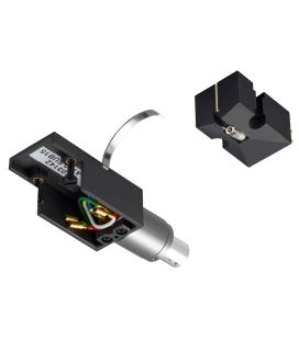 Doza pickup DENON DL-A110, 110-Year Anniversary Series MC phono cartridge with premium silver-graphite headshell