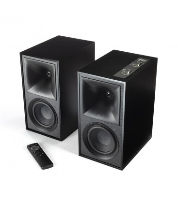 Boxe Wireless KLIPSCH THE FIVES BLACK, 160W RMS, Bluetooth® 5, HDMI-ARC, Optical, Analog RCA, USB, SUB OUT