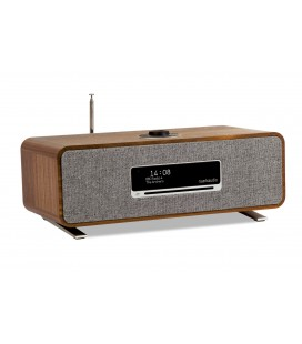Microsistem stereo RUARK R3 RICH WALNUT, CD player, Internet Radio, WiFi, Bluetooth, USB