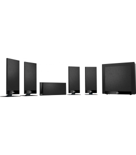 Set boxe surround 5.1 KEF T105 BLACK