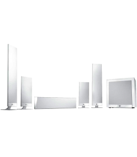 Set boxe surround 5.1 KEF T205 WHITE