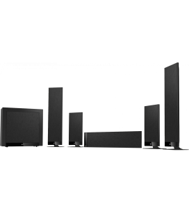 Set boxe surround 5.1 KEF T205 BLACK