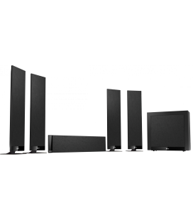 Set boxe surround 5.1 KEF T305 BLACK