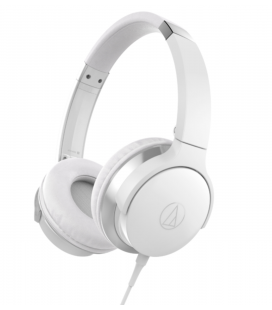 Casti cu fir si microfon AUDIO-TECHNICA ATH-AR3IS WHITE, 32 ohms, 5 - 32,000 Hz, 102 dB/mW