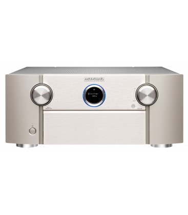 Network Receiver AV 11.2 MARANTZ SR8015 SILVER, HEOS, 8K/60Hz pass-through, eARC HDMI, AirPlay 2 or Bluetooth
