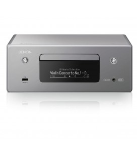 Network Receiver Stereo DENON RCD-N11DAB GREY, Wi-Fi, Ethernet, AirPlay 2, Bluetooth®, DAB/DAB+ radio, CD player, HEOS Music