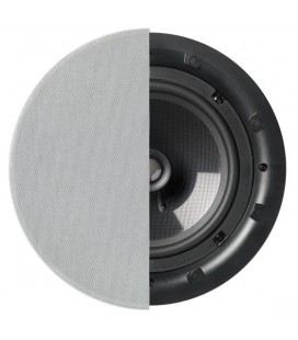 Boxa incastrabila in plafon Q Acoustics QI180CP Background In-Ceiling 20.5cm, 15 - 80 W RMS, 8 Ohm, 88 dB- bucata