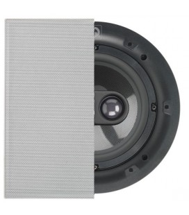 Boxa incastrabila in plafon Q Acoustics QI65SP ST Single Stereo - Square Grille,16.5cm, 15 - 60 W RMS, 8 Ohm, 87dB - bucata