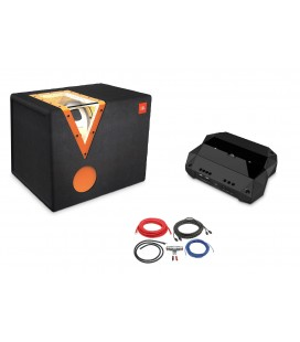 Pachet subwoofer auto JBL CSX-1400BP, Amplificator Mono CLUB-5501  si Kit de cabluri ACV de 10mm²