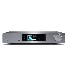 Network audio player CAMBRIDGE AUDIO CXN V2 LUNAR GREY, UPnP, Airplay, Internet Radio, Spotify Connect, local USB