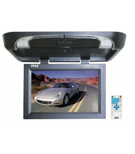 Monitor auto de plafon PYLE PLRD195IF, 19 inch, USB, dvd player, Wireless FM Modulator & IR Transmitter