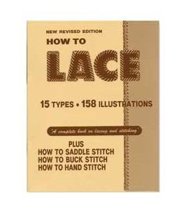 """Carte pielarie """"How To Lace Book"""""""