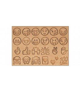 Set stante pielarie EMOJI, 9.5mm Tandy Leather